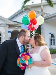 Alex and Rafaela Cornwell wed in Naples on Sept. 8,