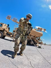 Bravo Battery, with 3rd Battalion, 43rd Air Defense