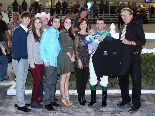 Leading Jockey, Gerard Melancon, 03-12b