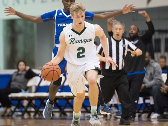 Ramapo and Teaneck in the Bergen County Jamboree boys