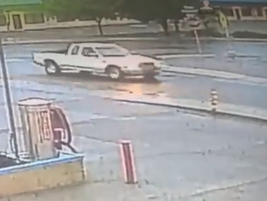 Truck suspected in hit and run photo