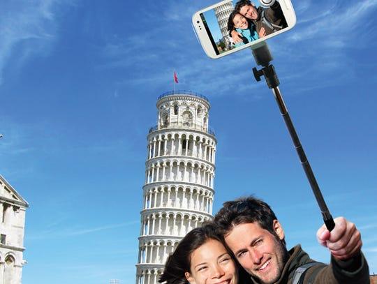 Smartphone Selfie Pole (Quik Pod) - a