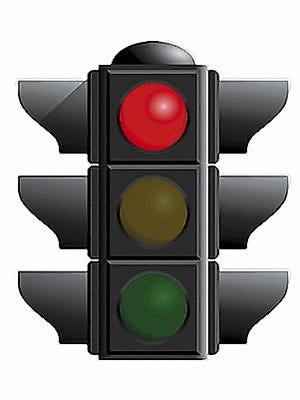 Red Light indicates an area roadblock.