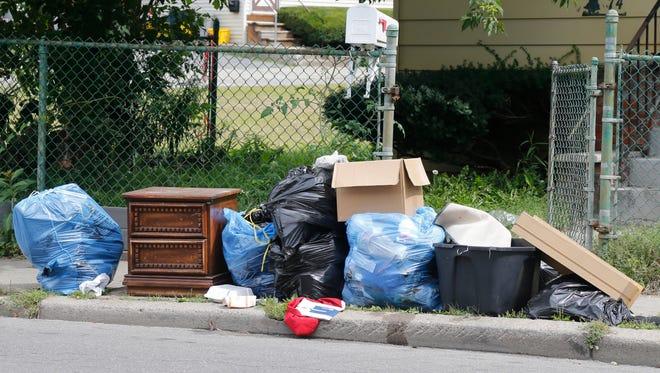 Bulk trash collection