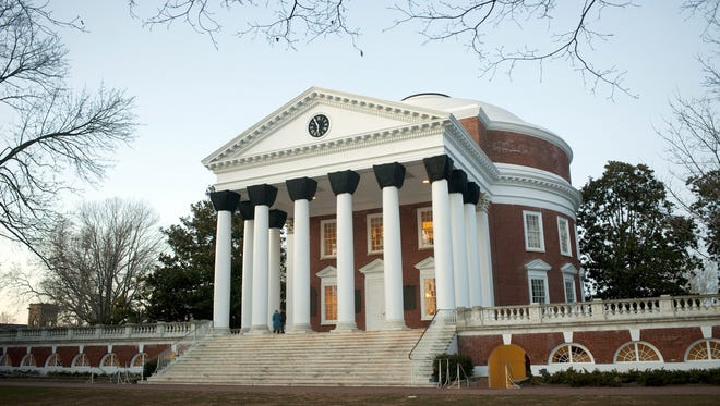 The University of Virginia, pictured here in 2001