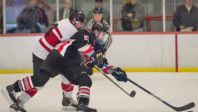 The return of forward Jin Lee (28) has helped Northern Highlands move up to No. 2 in The Record ice hockey Top 15.