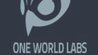 The logo of Denver-based One World Labs, founded by computer security researcher Chris Roberts.