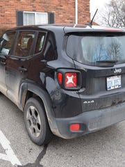 Danielle Stislicki's Jeep Renegade was discovered outside her apartment building Saturday, Dec. 3, around 6 p.m.