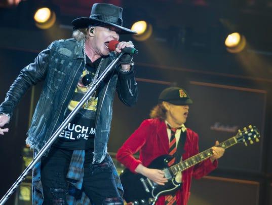 AC/DC in concert