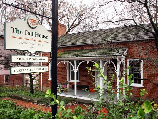 COS Toll House restored