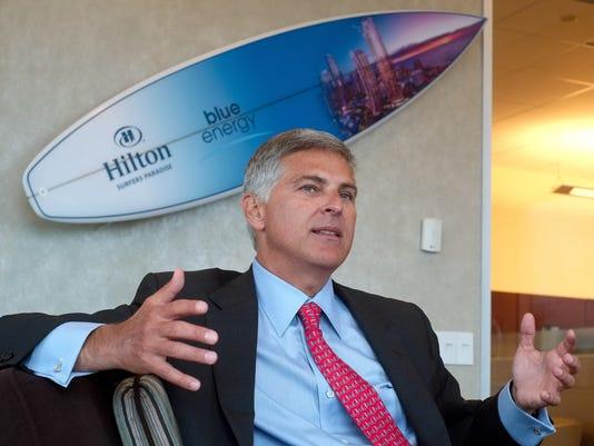 Hilton CEO