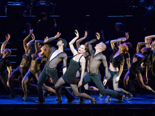 Dancer Ann Reinking choreographed this touring production.