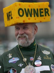 Steve Tate tailgates beofre the Green Bay Packers host the Minnesota Vikings Thursday, October 2, 2014, at Lambeau Field in Green Bay, Wis.