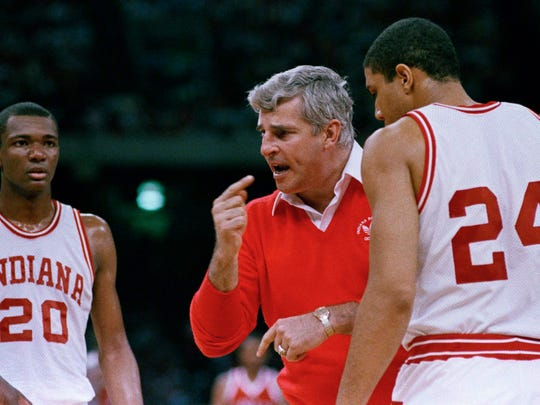 Bobby Knight won three national championships at Indiana, the last coming in 1987.