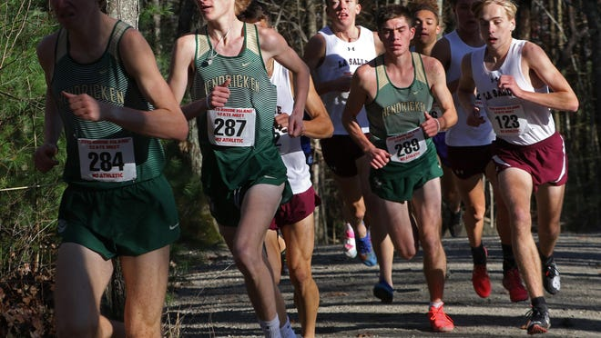 Cross country, along with girls tennis, could be the only sports contested this fall for Rhode Island high schools, although that hasn't been officially decided yet.