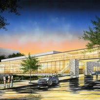 The Fox Cities Exhibition Center will connect to the Radisson Paper Valley Hotel in downtown Appleton.