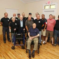 George H.W. Bush hospitalized in Maine