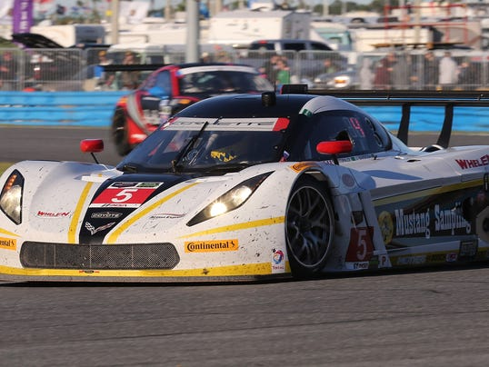 Action Express Racing Car Has Lead Early Sunday In Rolex