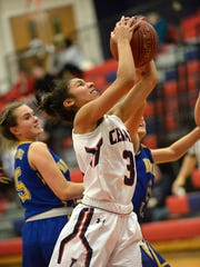 Senior guard Destiny Infante scored 20 points and made