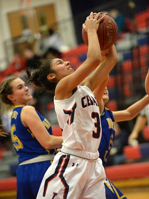 Senior guard Destiny Infante scored 20 points and made five 3-pointers in a win over McCaskey on Thursday.