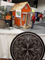A child's playhouse was auctioned off during the 20th
