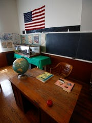The Hoosier Row Schoolhouse west of Indianola is listed on the National Registry of Historic Places.