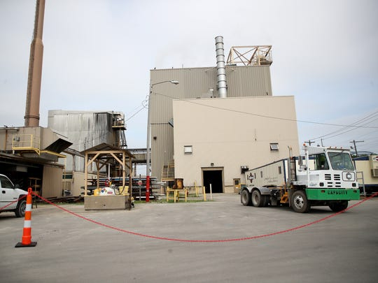 The Green Bay Packaging mill at 1601 Quincy St. on Tuesday, June 12, 2018, in Green Bay, Wis.