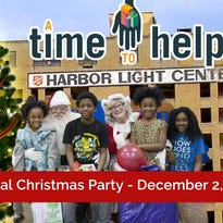 A Time to Help Christmas Party for Homeless Women and Children