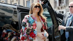For the cost of Melania Trump's Dolce & Gabanna coat,