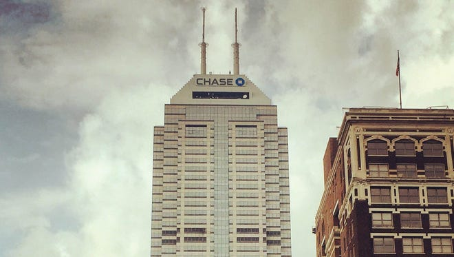 the soon-to-be renamed Chase Tower is pictured April 22, 2016.