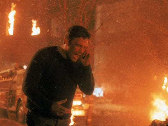 "Ben Affleck's Jack Ryan in ""The Sum of All Fears"" is sharply different from the older character in the Tom Clancy novel on which the film is based."