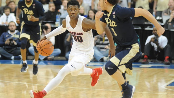 Port Huron native and New Haven High School graduate Eric Williams is in his first season at Duquesne University.