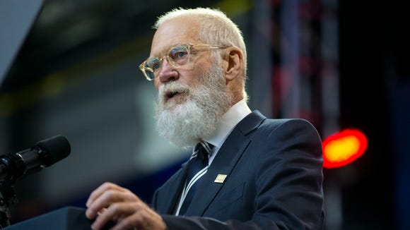 David Letterman kicks off the 5th anniversary of Joining