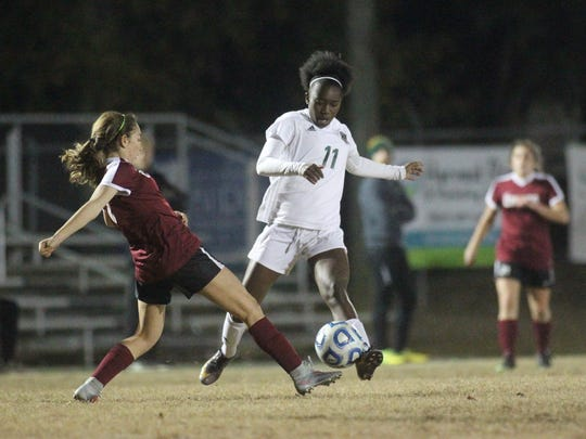 Kiarra Colson and the Lincoln Trojans girls soccer team beat Chiles 2-0 on Wednesday night in a District 2-4A semifinal.