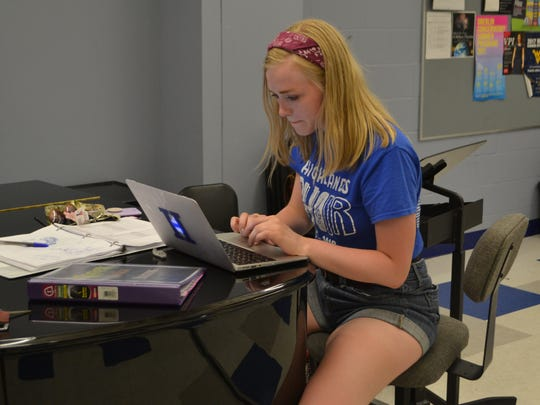 "Maggie Seibert, who is heading into her senior year at Highlands High School, is production stage manager of the Commonwealth Artists Student Theatre's (CAST) production of ""Shrek: The Musical,"" which runs July 13-22 at Highlands' Performing Arts Center in Fort Thomas."