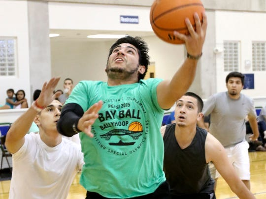 The 28th annual Pepsi Bay Ball Ballyhoop 3-On-3 Basketball Tournament will be from 10 a.m. to 5:30 p.m. Saturday, July 29 and Sunday, July 30 at Texas A&M University-Corpus Christi Dugan Wellness Center and Island Hall Gym, 6300 Ocean Drive. Proceeds benefit Special Olympics Texas. Cost: Free for spectators. Information: 361-857-5679 or agarza@sotx.org.