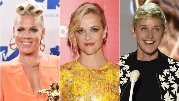 Pink, Reese and Ellen all spilled secrets on 'The Ellen