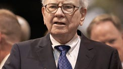 Warren Buffett is chairman and CEO of Berkshire Hathaway.