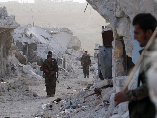 EPA SYRIA ALEPPO CONFLICTS WAR ARMED CONFLICT SYR SY