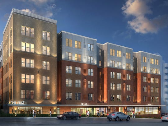 Gilbane Development Inc. plans to build a six-story apartment complex called The Edge in Ames' Campustown.