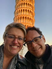 Italy Travels – Ever the world travelers, Elaine McCarthy