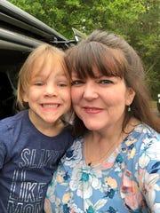 Elie with mom, Heather Rosenberg.