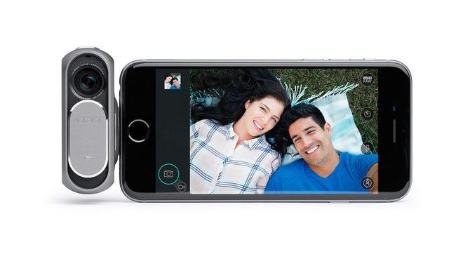 A selfie taken on a DxO ONE camera.