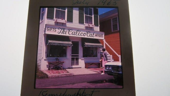 Last week's photo: The Calico Cat storefront