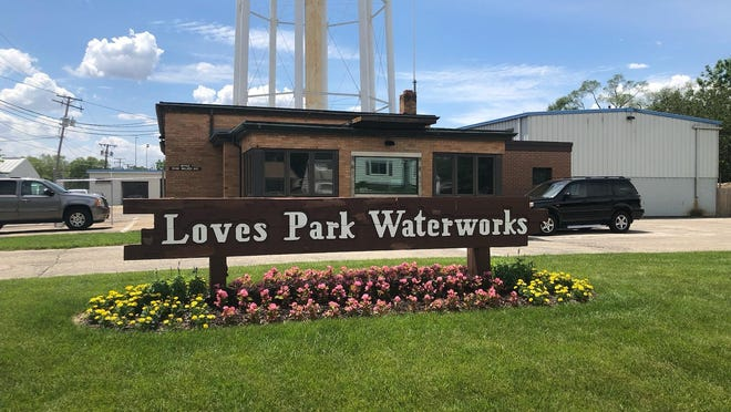 Loves Park Well No. 1, which was closed Aug. 19 because trace amounts of a likely carcinogen were found, will remain closed. The city's water department building is pictured on June 11, 2019.