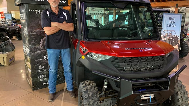 Country Feeds employee and longtime EMS volunteer Doug Classen, of Montezuma, was one of the winners of the nationwide Polaris Salutes American Heroes campaign.