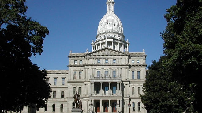 The Michigan State Capitol in Lansing.