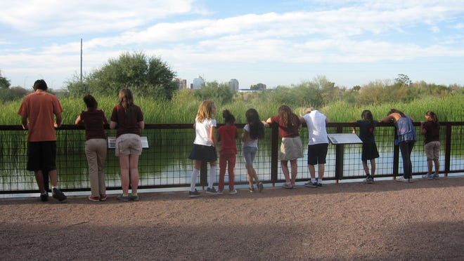 At the Nina Mason Pulliam Rio Salado Audubon Center, free admission includes interactive exhibits, access to 16 miles of hiking and riding trails and several hands-on nature programs.