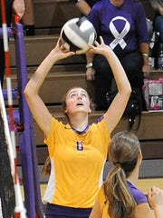 Olivia Kearns ranks eighth all-time in Ohio with 2,797 assists in volleyball for Lexington.