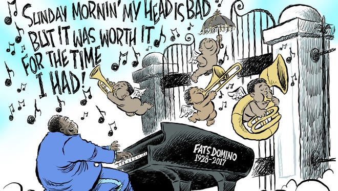 Fats Domino RIP commentary by Andy Marlette